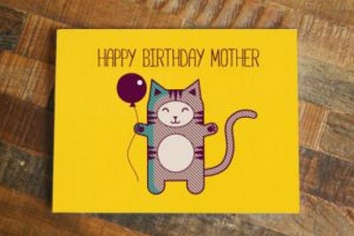 "101 Happy Birthday Mom Memes - ""Happy birthday mother."""
