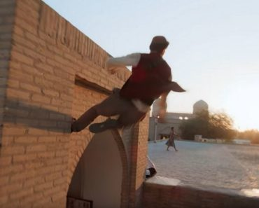 Aladdin Meets Parkour in This Short Film by Devinsupertramp.