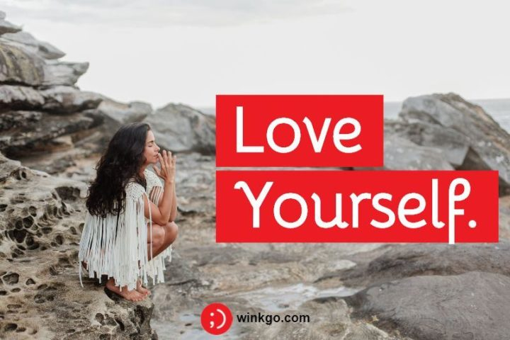 "65 Happy Wednesday Quotes - ""Love yourself."" - Unknown"