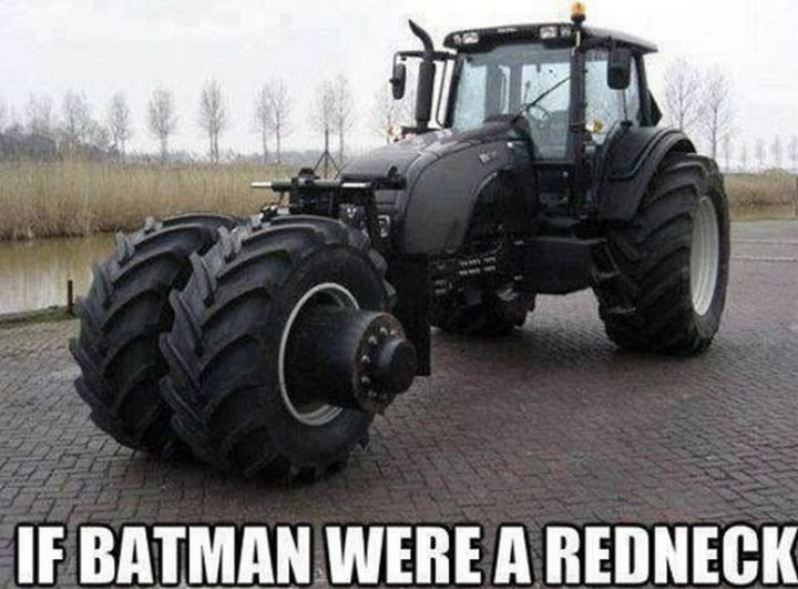 "85 Car Memes - ""If Batman were a redneck."""