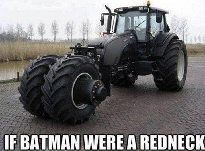 """85 Funny Car Memes - """"If Batman were a redneck."""""""