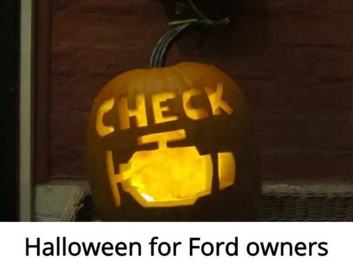 "85 Car Memes - ""Halloween for Ford owners."""