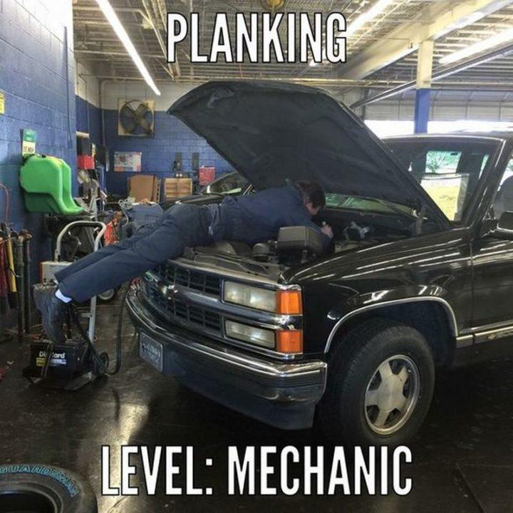 """""""Planking. Level: Mechanic."""""""