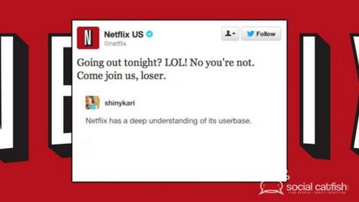 """65 Funny Dating Memes - """"Netflix: Going out tonight? LOL! No, you're not. Come join us, loser. shinycarl: Netflix has a deep understanding of its userbase."""""""
