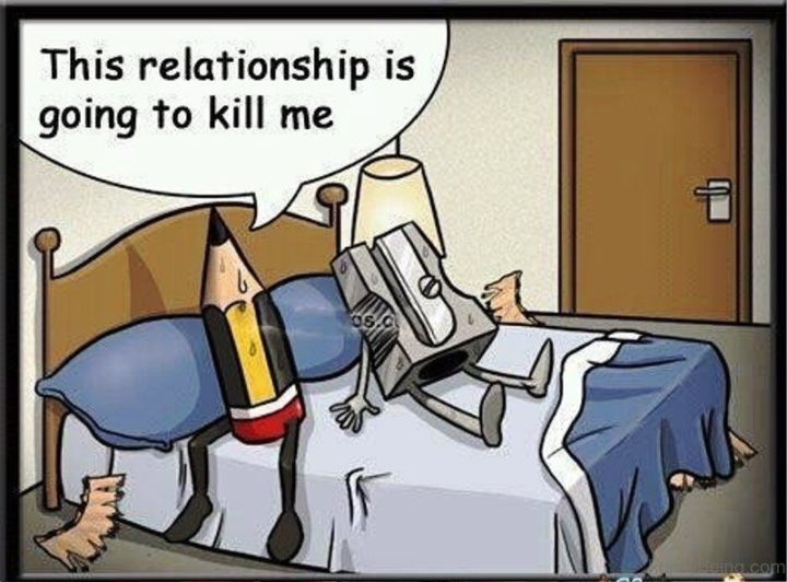 """""""This relationship is going to kill me."""""""