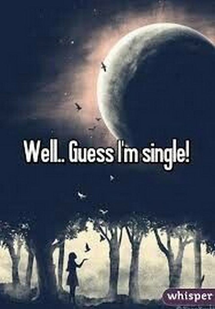 "67 Funny Single Memes - ""Well...Guess I'm single!"""
