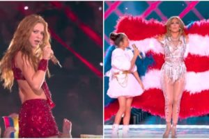 Shakira and Jennifer Lopez Rocks the Super Bowl Halftime Show.