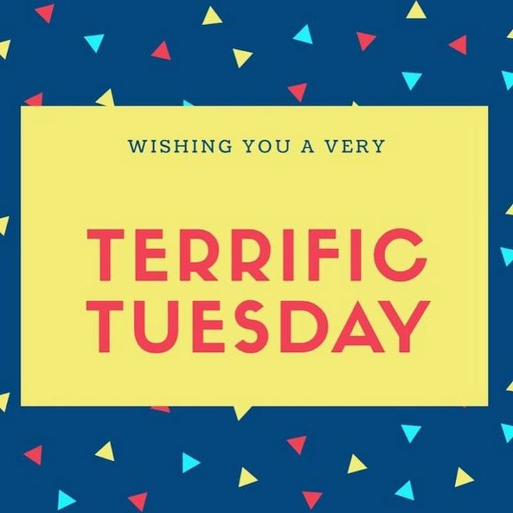 "101 Tuesday Memes - ""Wishing you a very terrific Tuesday."""