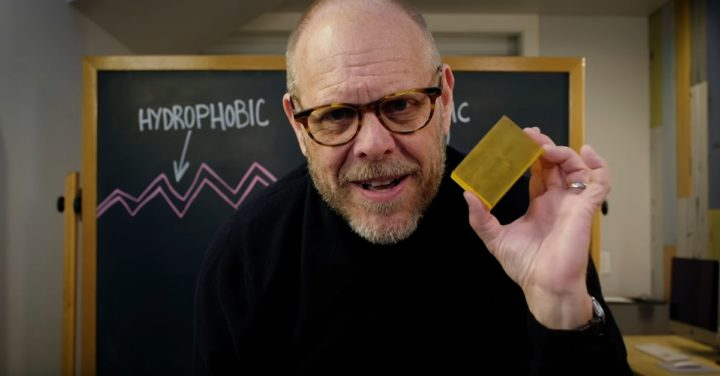 Alton Brown and Everything You Ever Wanted to Know About Soap and Hand Washing
