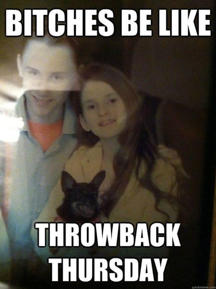 """101 Thursday Memes - """"[censored] be like, throwback Thursday."""""""