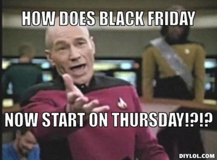 """101 Thursday Memes - """"How does Black Friday now start on Thursday!?!?"""""""