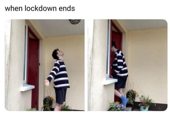 """75 Introvert Memes - """"When lockdown ends."""""""