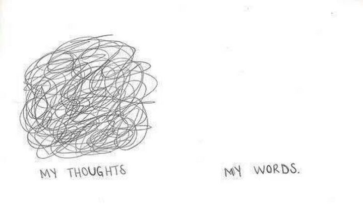 """75 Introvert Memes - """"My thoughts vs My words."""""""