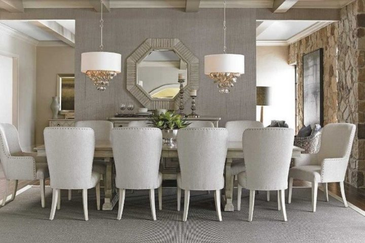 Choosing the perfect table shape depends on a number of things, mainly the number of people you usually seat and the shape and size of your dining room.