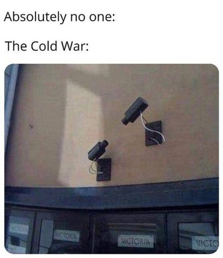 """55 Funny History Memes - """"Absolutely no one. The cold war."""""""