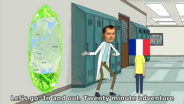 """55 Funny History Memes - """"Let's go. In and out. Twenty-minute adventure."""""""