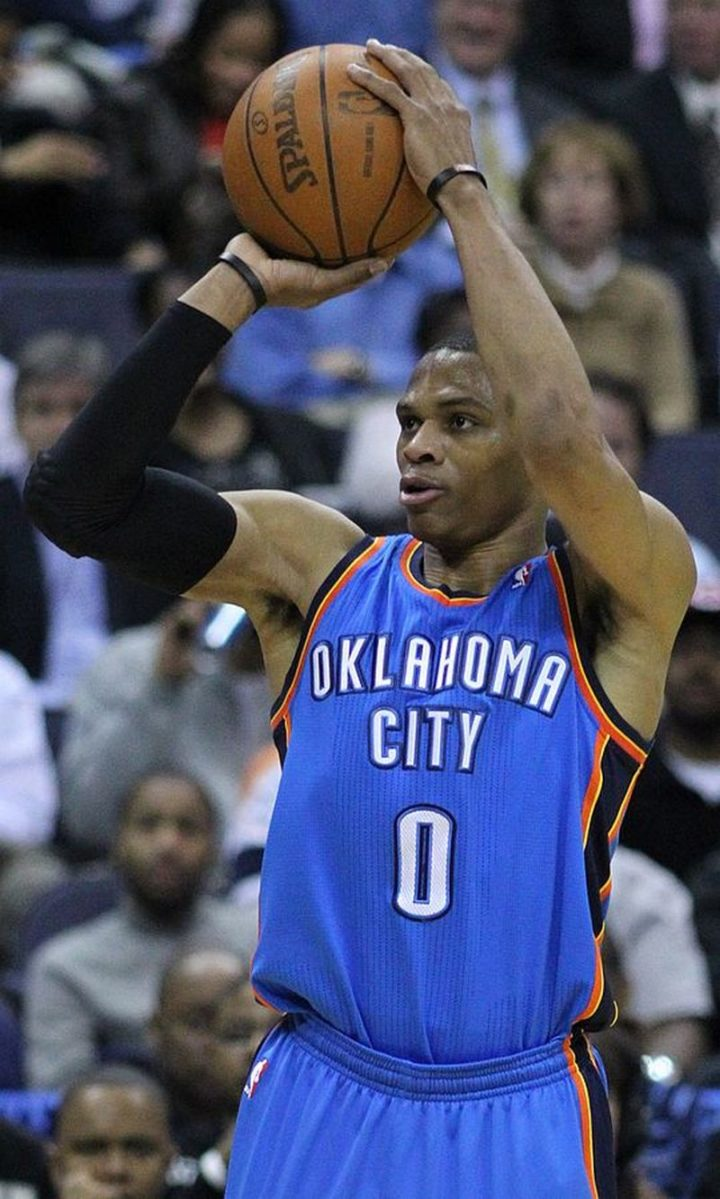 19 Richest NBA Players of All-Time - Russell Westbrook