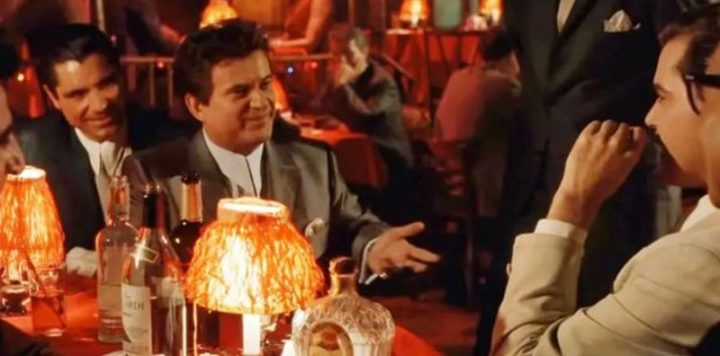 """The """"How am I funny?"""" scene in GoodFellas is based on something that actually happened to Joe Pesci. While working in a restaurant, a young Pesci apparently told a mobster that he was funny, a compliment that was met with a less-than-enthusiastic response. Pesci relayed the anecdote to Martin Scorsese, who decided to include it in the film. Scorsese didn't include the scene in the shooting script so that Pesci and Ray Liotta's interactions would elicit genuinely surprised reactions from the supporting cast."""