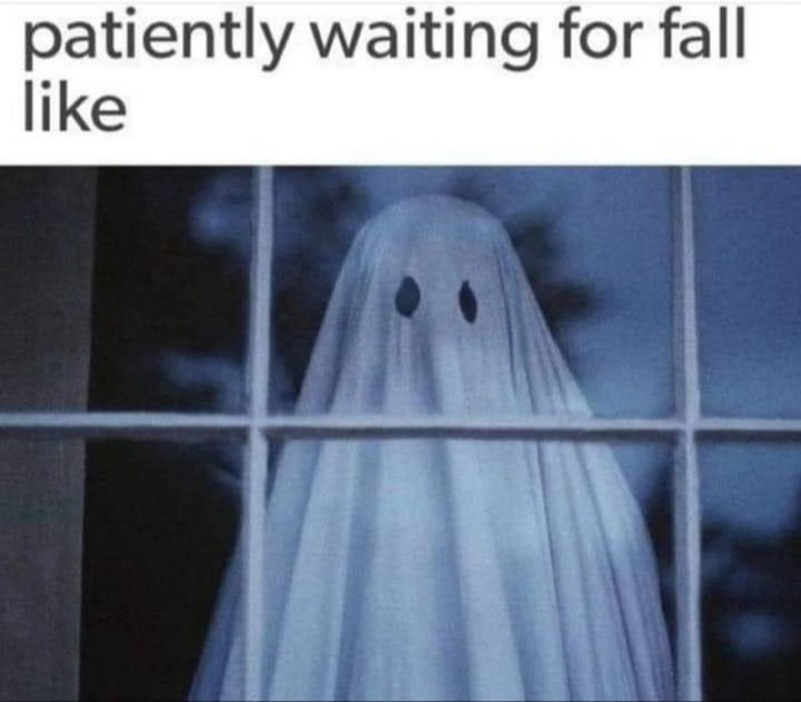 """""""Patiently waiting for fall like..."""""""