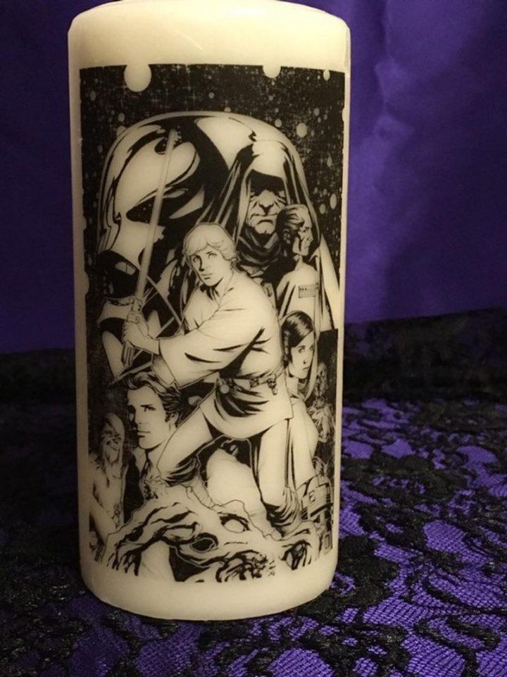 Star Wars Pillar Candle.