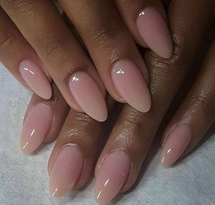 Bubblebath nails.