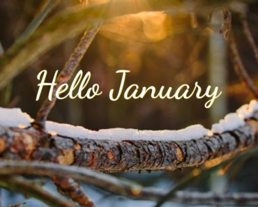 Say Hello to January With 37 January Quotes