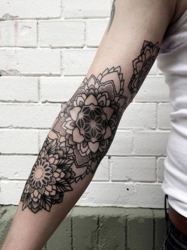 Excellent tattoo ideas for a full arm.