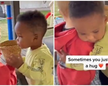 Adorable Video of Two Little Boys Hugging Each Other Will Warm Your Heart.