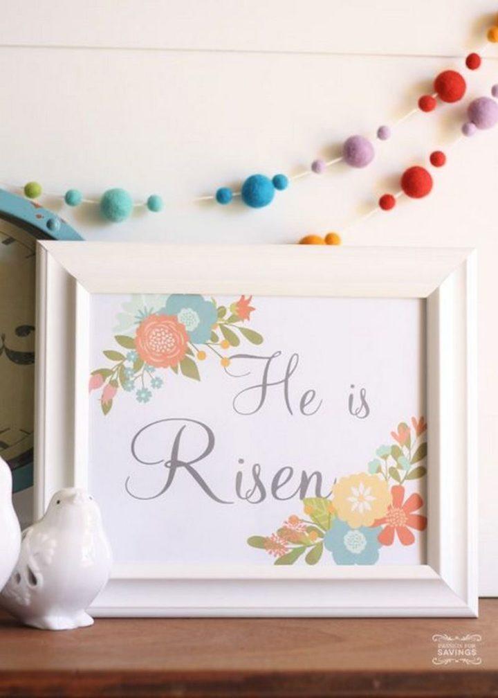 """""""He is Risen."""""""