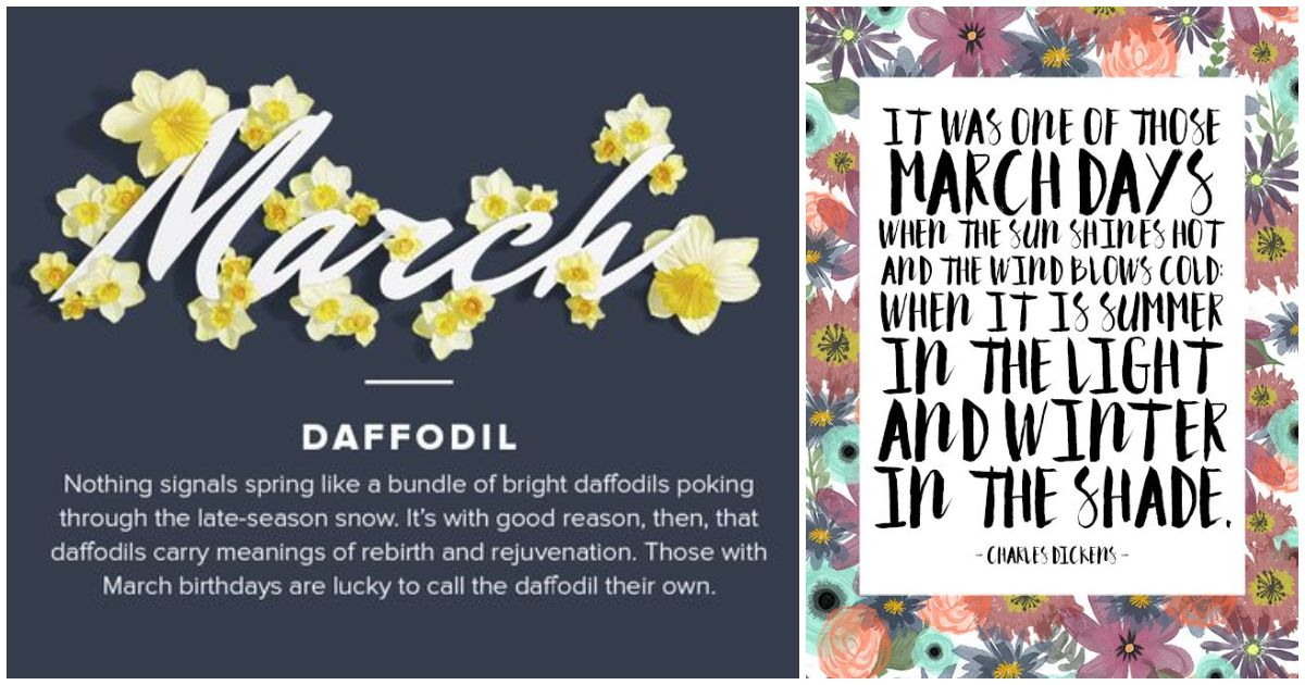 Inspirational March Quotes and Sayings