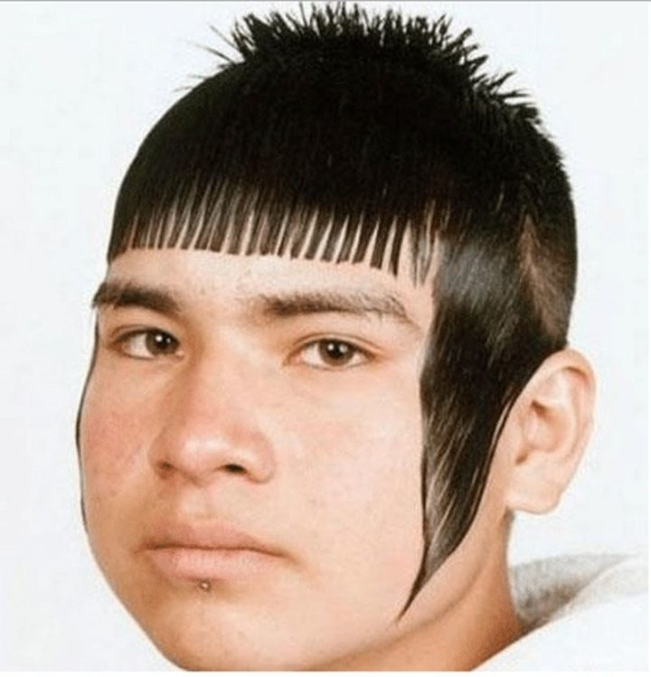 31 Funny Haircuts - 3 words: High maintenance hairstyle.