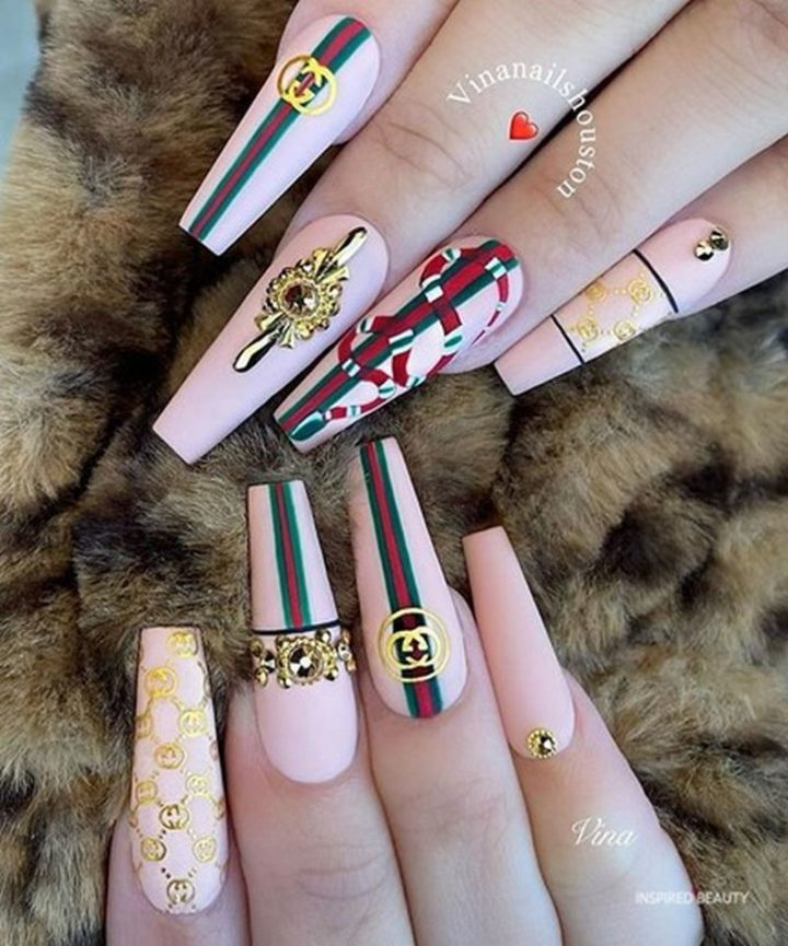 Gucci Nails.