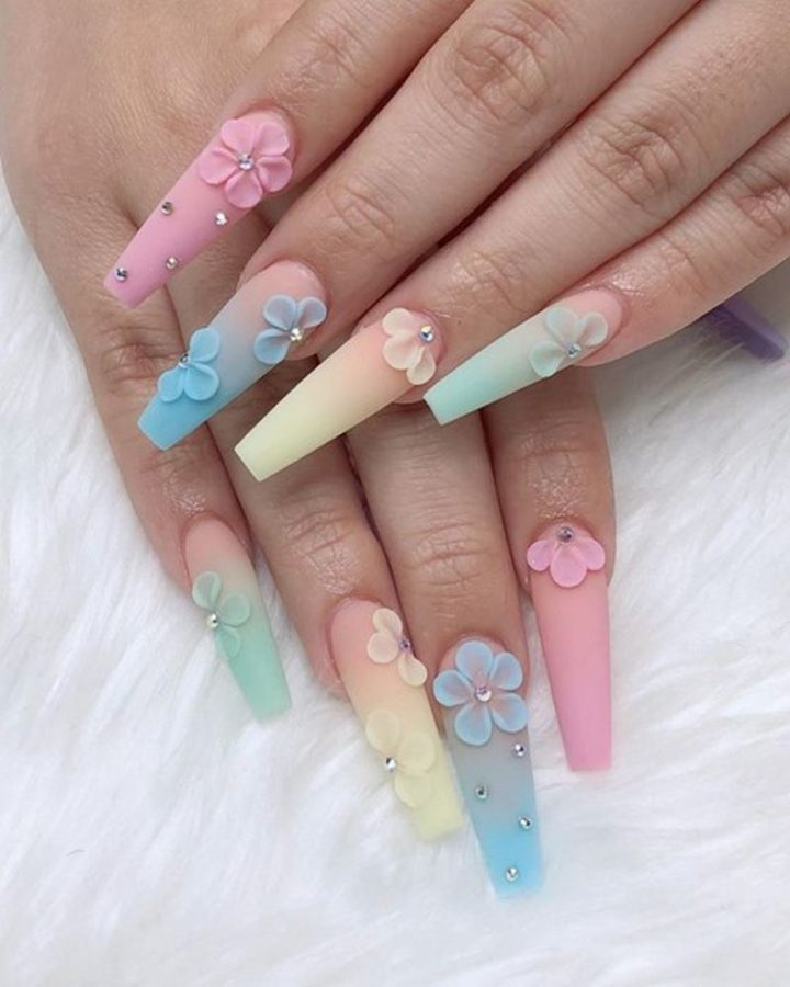 Coachella Nails.