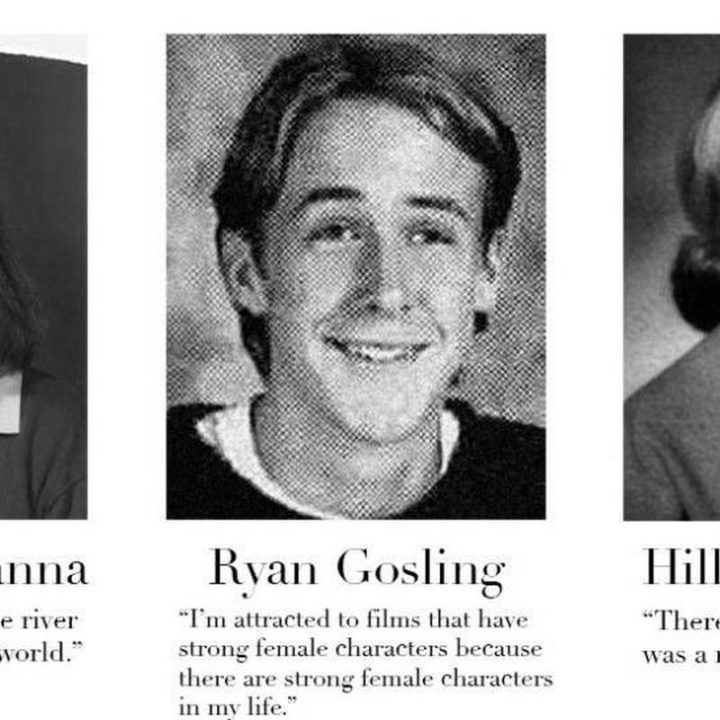 "75 Funny Yearbook Quotes - ""I'm attracted to films that have strong female characters because there are strong female characters in my life."" - Ryan Gosling"
