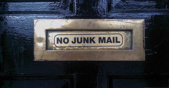 """""""If you live in the US, you can use optoutprescreen.com, dmachoice.org, and donotcall.gov to opt-out of most junk mail, spam email, and spam calls."""""""