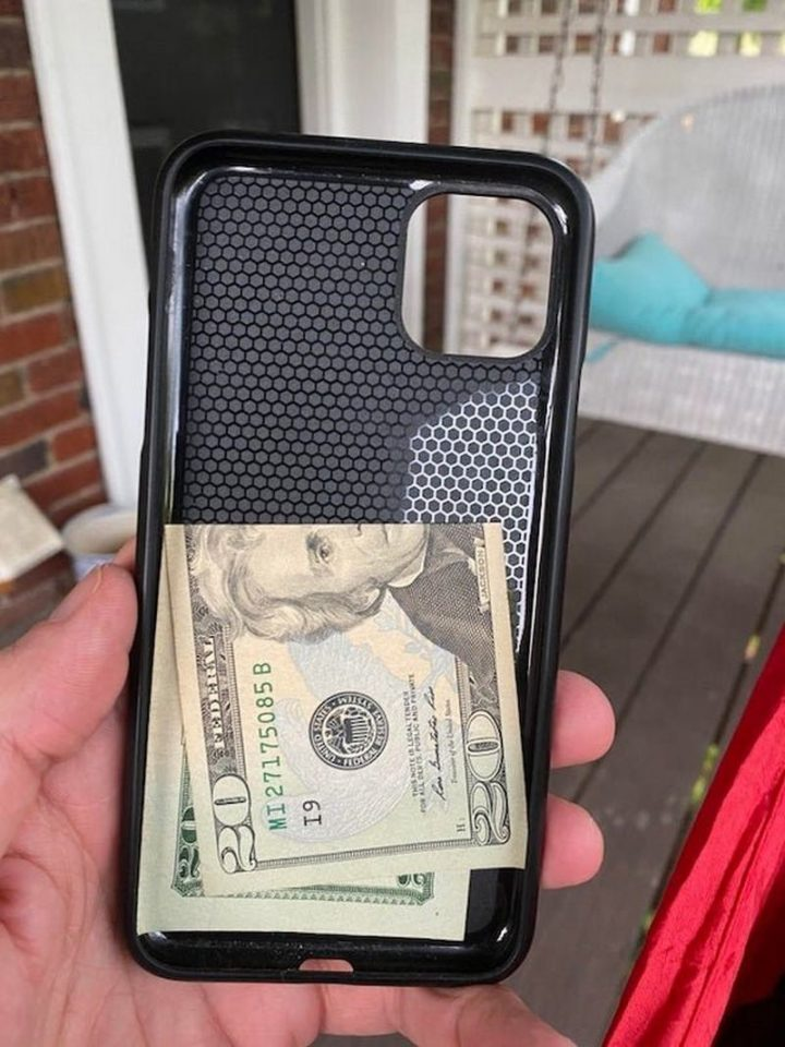 """""""Keep a 20 in your phone case for emergencies or exceptional customer service."""""""