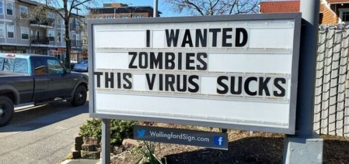 """""""I wanted zombies. This virus sucks."""""""