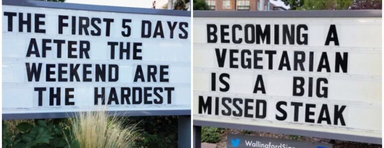 27 Funny Gas Station Signs