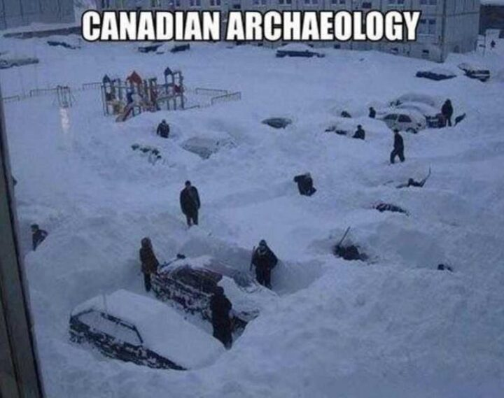 """""""Canadian archaeology."""""""