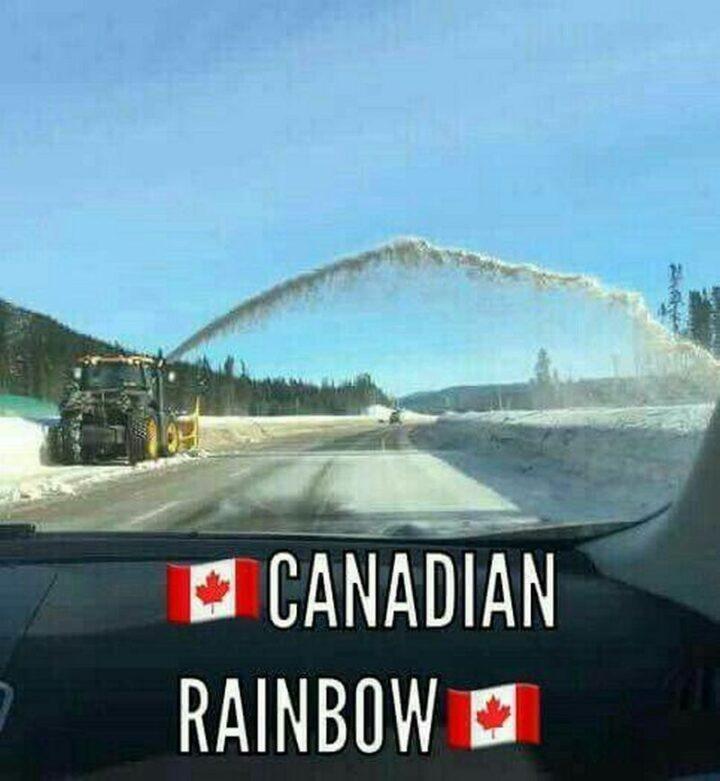 """Canadian rainbow."""