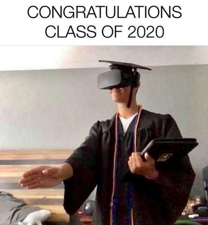 """65 Funny Sarcastic Memes - """"Congratulations Class of 2020."""""""