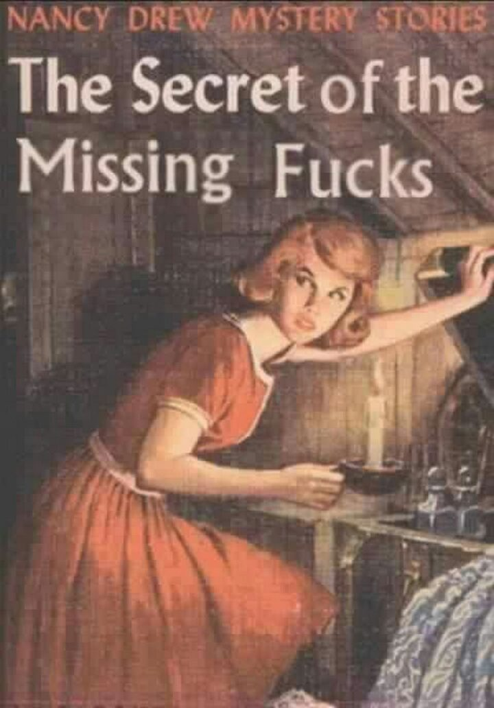 """Nancy Drew Mystery Stories: The Secret of the Missing [censored]."""