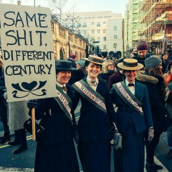 """Same [censored], different century."""